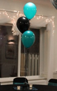 Cluster of 3 Table Balloons