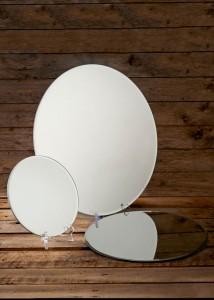 3 x mirror plates