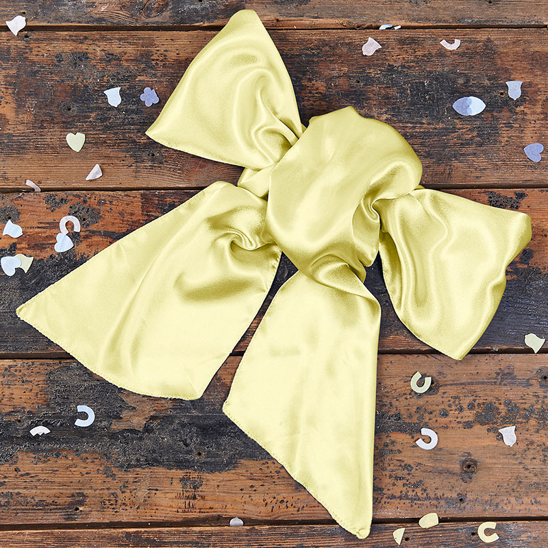 Baby Yellow Bow