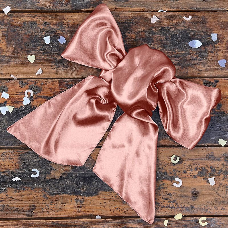 Satin Blush Bow