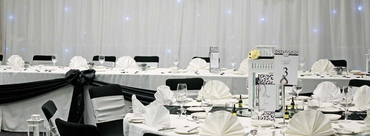 venue dressing wedding reception or birthday celebrations