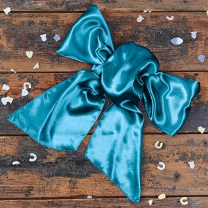 turquoise-bow